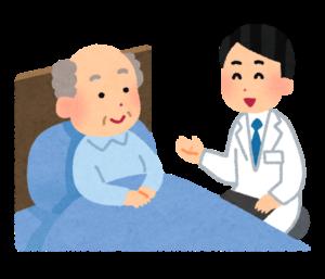 訪問医療の様子